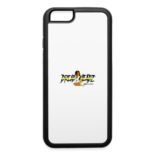 Black Red Green Yellow Dread Headz Women's - iPhone 6/6s Rubber Case