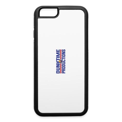 DUNKTIME Retro logo - iPhone 6/6s Rubber Case