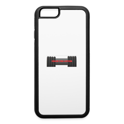 colin the lifter - iPhone 6/6s Rubber Case