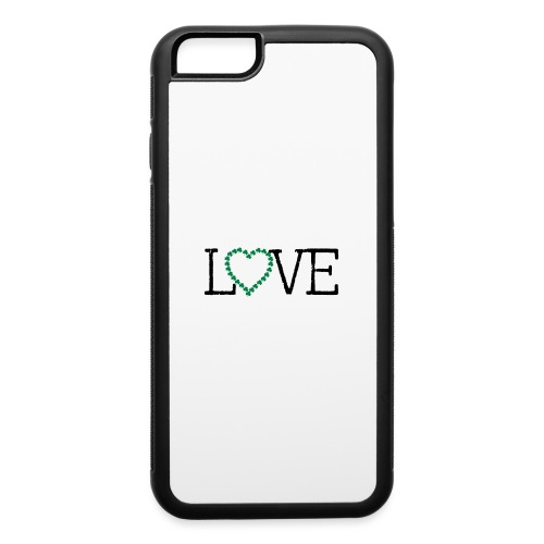 LOVE irish shamrocks - iPhone 6/6s Rubber Case