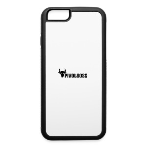 PivotBoss Black Logo - iPhone 6/6s Rubber Case