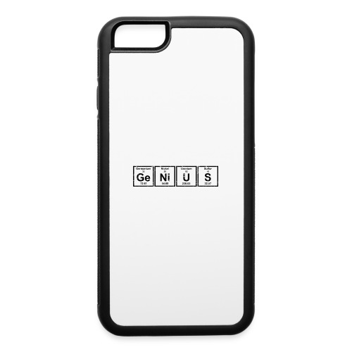 Genius (Periodic Elements) - iPhone 6/6s Rubber Case