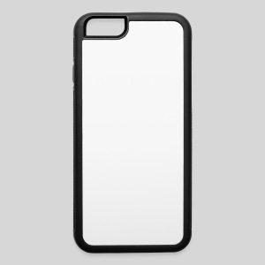 AliensWithWigs-Logo-Blanc - iPhone 6/6s Rubber Case