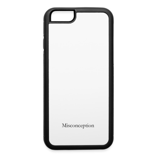 Misconception SS18 - iPhone 6/6s Rubber Case