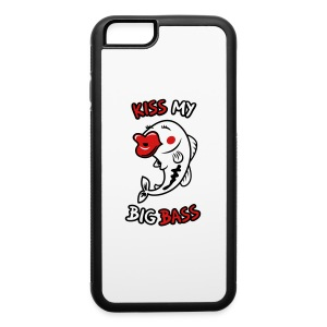 Kiss My Big Bass - iPhone 6/6s Rubber Case