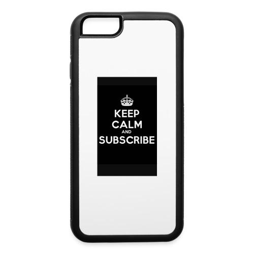 Keep calm merch - iPhone 6/6s Rubber Case