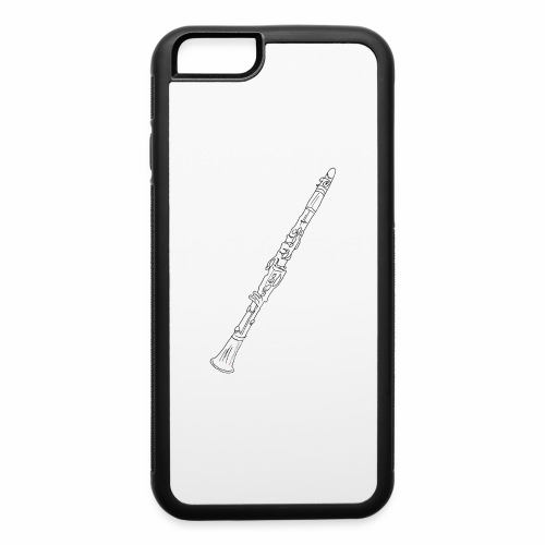 Clarinet · black rotate - iPhone 6/6s Rubber Case