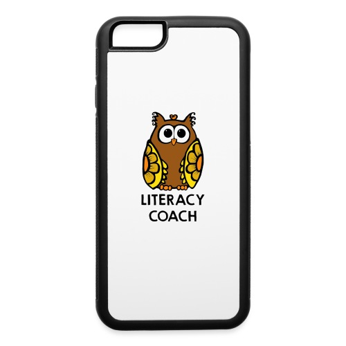 literacy coach png - iPhone 6/6s Rubber Case