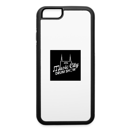 Music City Drum Show Black Background - iPhone 6/6s Rubber Case