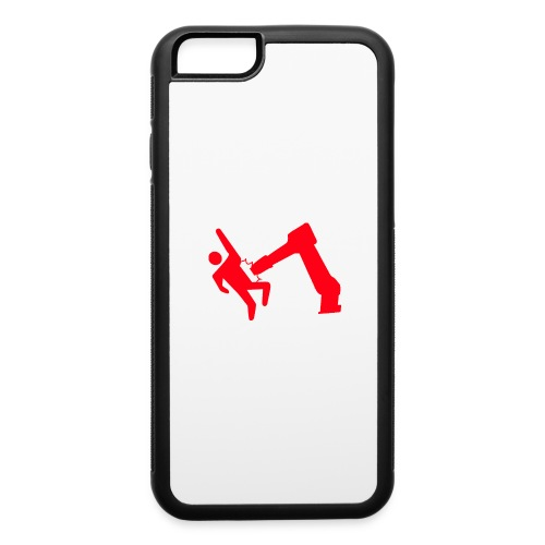 Robot Wins - iPhone 6/6s Rubber Case