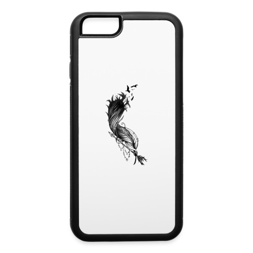 Black Feither - iPhone 6/6s Rubber Case