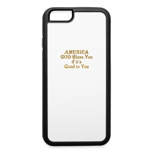 America God Bless You - iPhone 6/6s Rubber Case