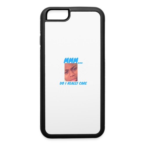 i dont care phone case - iPhone 6/6s Rubber Case
