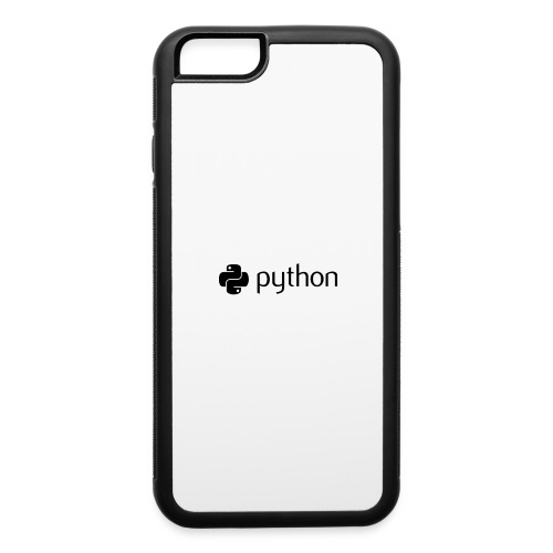 python logo - iPhone 6/6s Rubber Case