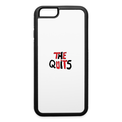 quits logo - iPhone 6/6s Rubber Case