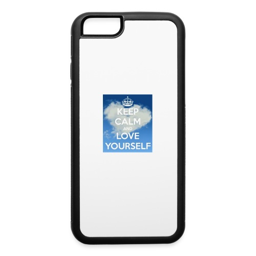 Keep calm and love yourself - iPhone 6/6s Rubber Case