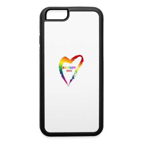 Rainbow Rage - iPhone 6/6s Rubber Case