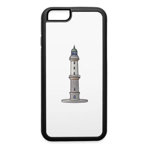 Lighthouse Warnemünde Rostock - iPhone 6/6s Rubber Case