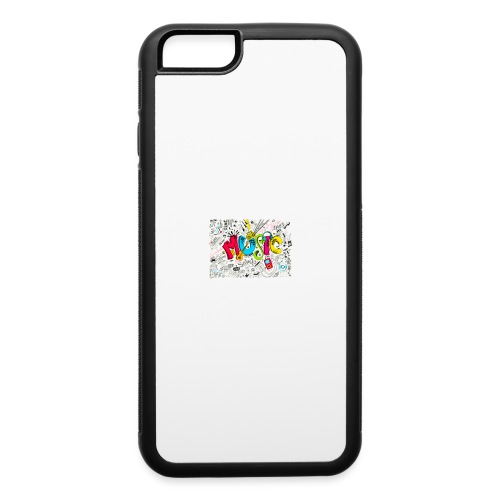 music banner - iPhone 6/6s Rubber Case