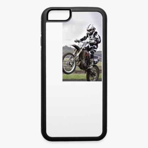 Dirtbike phone case - iPhone 6/6s Rubber Case