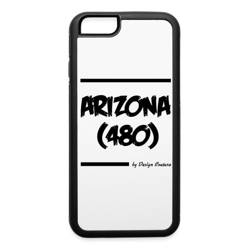 ARIZON 480 BLACK - iPhone 6/6s Rubber Case