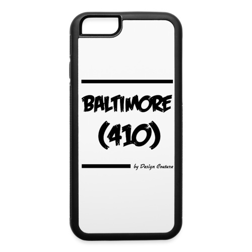BALTIMORE 410 BLACK - iPhone 6/6s Rubber Case
