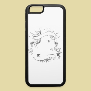 hoh_tshirt_skullhouse - iPhone 6/6s Rubber Case