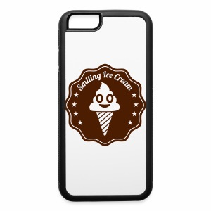 Smiling Ice Cream Batch - iPhone 6/6s Rubber Case