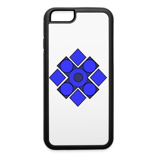 Geometric Cerulean - iPhone 6/6s Rubber Case