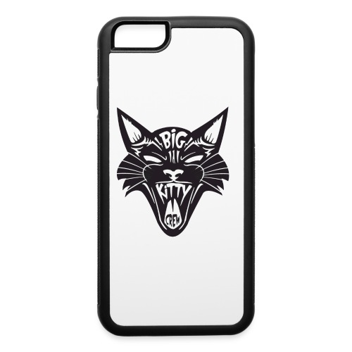 Big Kitty-Screaming Cat - iPhone 6/6s Rubber Case