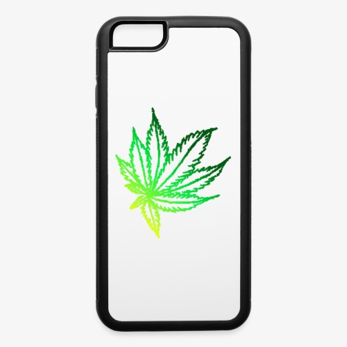 green leaf - iPhone 6/6s Rubber Case