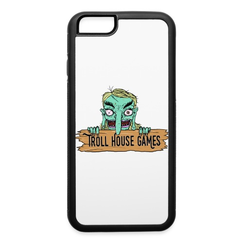 Troll House Games Cartoon Logo - iPhone 6/6s Rubber Case