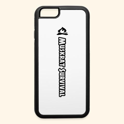 Muskrat Survival Tall - iPhone 6/6s Rubber Case