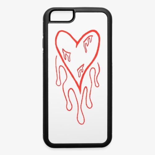 bleeding heart - iPhone 6/6s Rubber Case