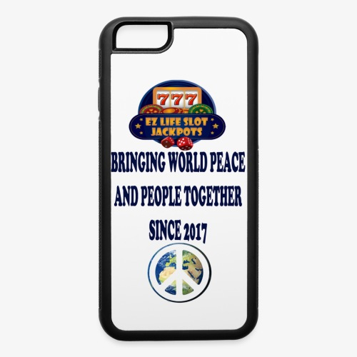 world peace - iPhone 6/6s Rubber Case