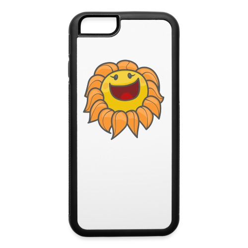 Happy sunflower - iPhone 6/6s Rubber Case
