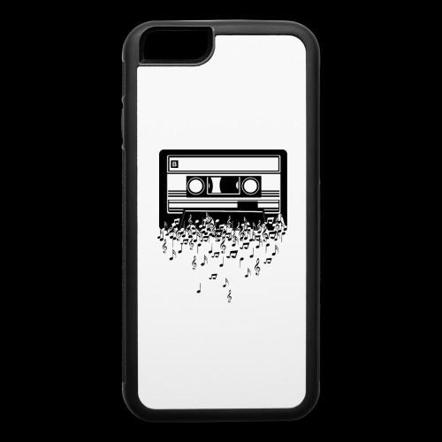Music Notes Cassette Tape - iPhone 6/6s Rubber Case