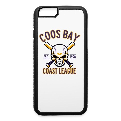 Coos Bay Coast League on White or Gray - iPhone 6/6s Rubber Case