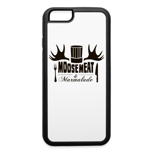 MandM Logo 2BLACK png - iPhone 6/6s Rubber Case