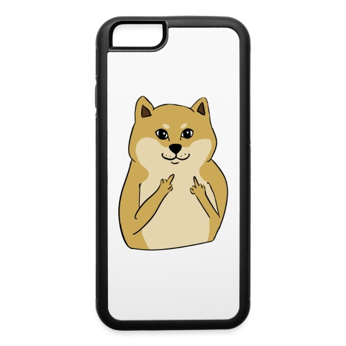 doge finger - iPhone 6/6s Rubber Case