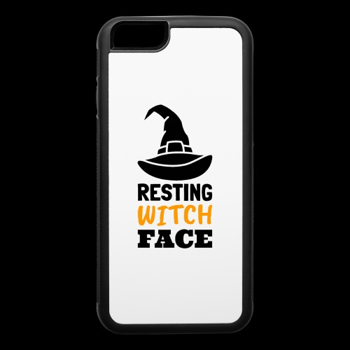 Resting Witch Face | Funny Halloween - iPhone 6/6s Rubber Case
