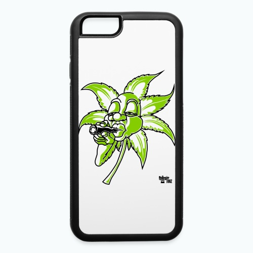 smoking leaf - iPhone 6/6s Rubber Case