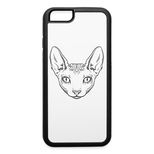 Hairless Cat - iPhone 6/6s Rubber Case