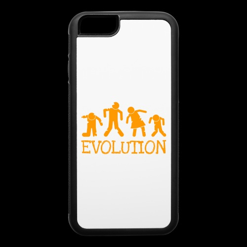 Evolution of the Zombie - iPhone 6/6s Rubber Case