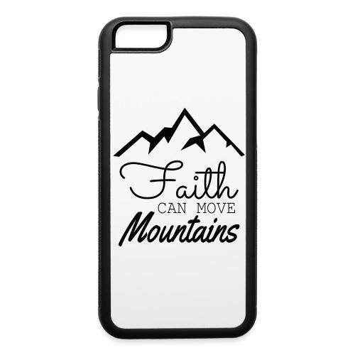 Faith Can Move Mountains - iPhone 6/6s Rubber Case