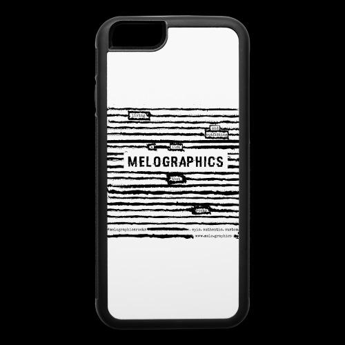 MELOGRAPHICS | Blackout Poem - iPhone 6/6s Rubber Case