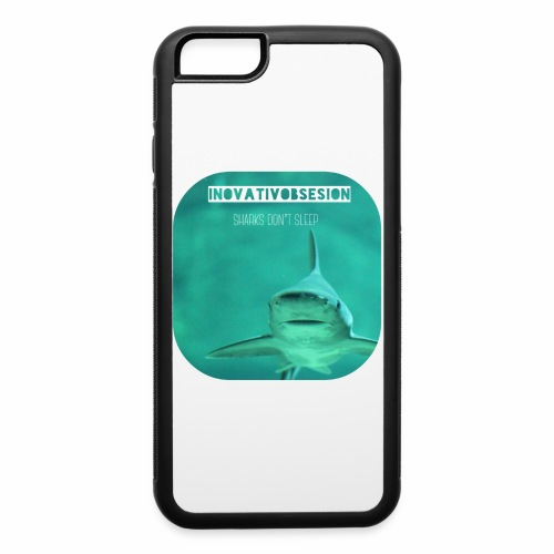 "InovativObsesion ""SHARKS DON'T SLEEP"" apparel - iPhone 6/6s Rubber Case"