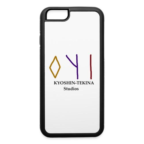 Kyoshin-Tekina Studios logo (black test) - iPhone 6/6s Rubber Case