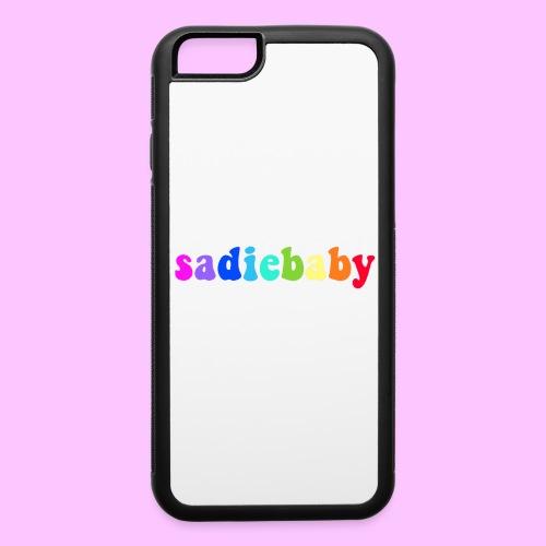 rainbow sadiebaby - iPhone 6/6s Rubber Case