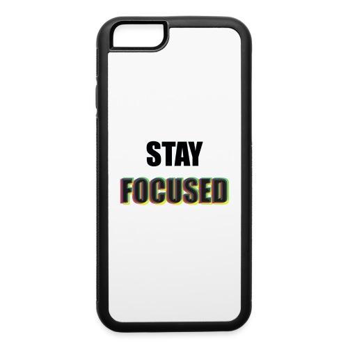 focused - iPhone 6/6s Rubber Case